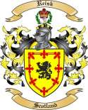 Reisk Family Crest from Scotland