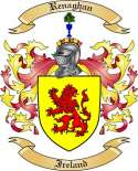 Renaghan Family Crest from Ireland3