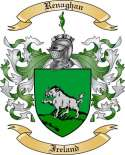 Renaghan Family Crest from Ireland