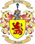 Renahan Family Coat of Arms from Ireland3