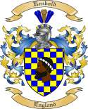 Renbold Family Crest from England