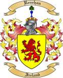 Renehan Family Coat of Arms from Ireland3