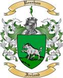 Renehan Family Coat of Arms from Ireland