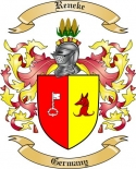 Reneke Family Crest from Germany2