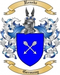Reneke Family Crest from Germany
