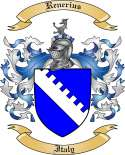 Renerius Family Crest from Italy
