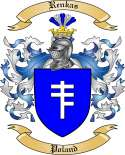 Renkas Family Crest from Poland