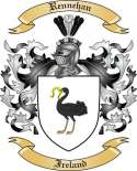 Rennehan Family Coat of Arms from Ireland2