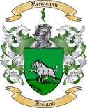 Rennehan Family Coat of Arms from Ireland