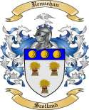 Rennehan Family Coat of Arms from Scotland