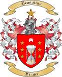 Renouleau Family Coat of Arms from France