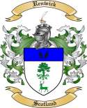 Renwick Family Crest from Scotland