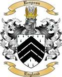 Respass Family Crest from England