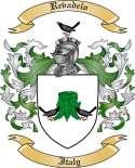 Revadelo Family Coat of Arms from Italy