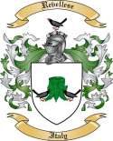 Revellese Family Coat of Arms from Italy