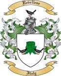 Revellese Family Crest from Italy