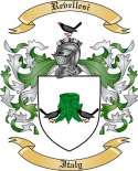 Revellesi Family Crest from Italy