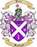 Revie Family Crest from Scotland2