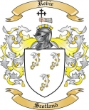 Revie Family Crest from Scotland