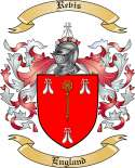Revis Family Crest from England