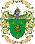 Reynolds Family Crest from Ireland