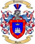 Reynoso Family Crest from Spain