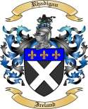Rhadigan Family Coat of Arms from Ireland