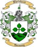 Rheinhard Family Crest from Germany2