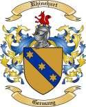 Rhinehart Family Coat of Arms from Germany