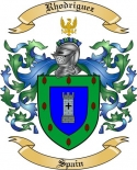 Rhodriguez Family Coat of Arms from Spain