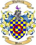 Rhydderch Family Crest from Wales2
