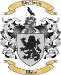 Rhydderch Family Crest from Wales