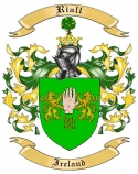 Riall Family Coat of Arms from Ireland