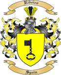Ribeiro Family Crest from Spain2