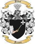 Ribot Family Coat of Arms from France
