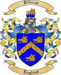 Ribsam Family Crest from England