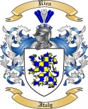 Rica Family Coat of Arms from Italy2