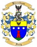 Riccobene Family Coat of Arms from Italy