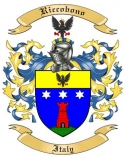 Riccobono Family Coat of Arms from Italy
