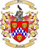 Rice Family Coat of Arms from Ireland