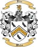 Rice Family Coat of Arms from Wales