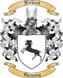 Richard Family Coat of Arms from Germany2