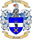 Richards Family Coat of Arms from Ireland