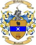 Richards Family Coat of Arms from Scotland