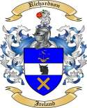 Richardson Family Crest from Ireland