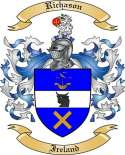 Richason Family Crest from Ireland