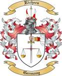 Richers Family Coat of Arms from Germany