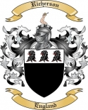 Richerson Family Coat of Arms from England