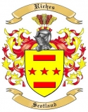 Riches Family Crest from Scotland