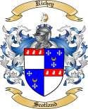 Richey Family Coat of Arms from Scotland